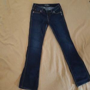 """Silver Jeans """"Frances"""" 29x33"""
